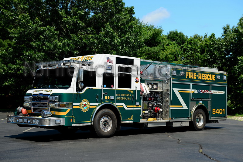 JACKSON MILLS, NJ ENGINE 5401
