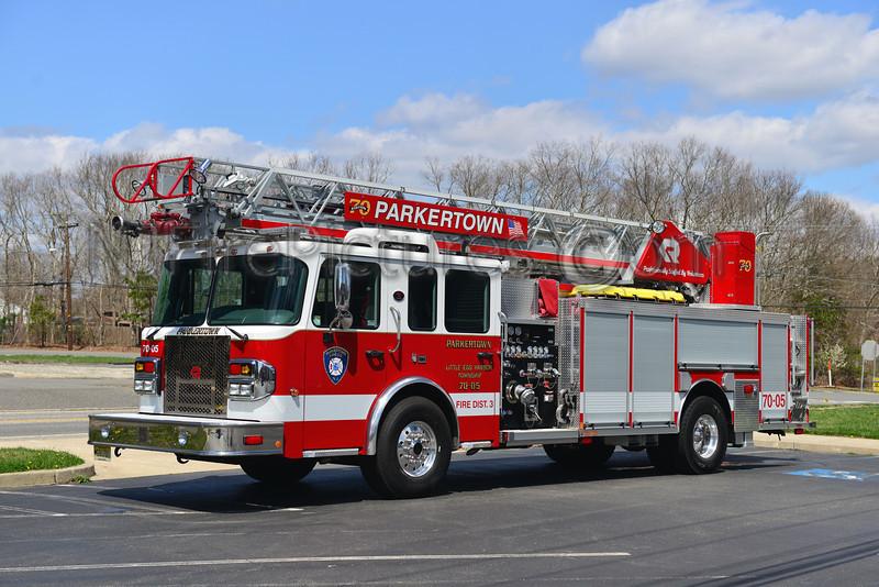 LITTLE EGG HARBOR, NJ (PARKERTOWN) LADDER 7005