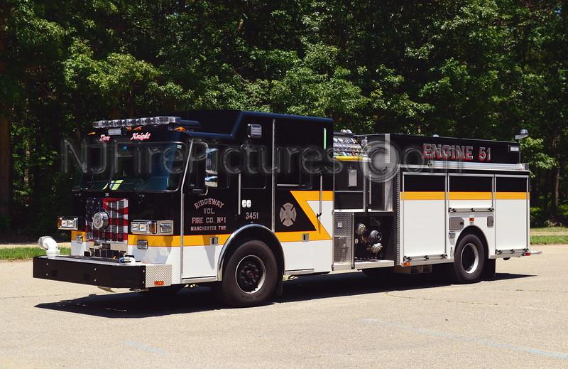MANCHESTER TWP, NJ RIDGEWAY F.C. ENGINE 3451