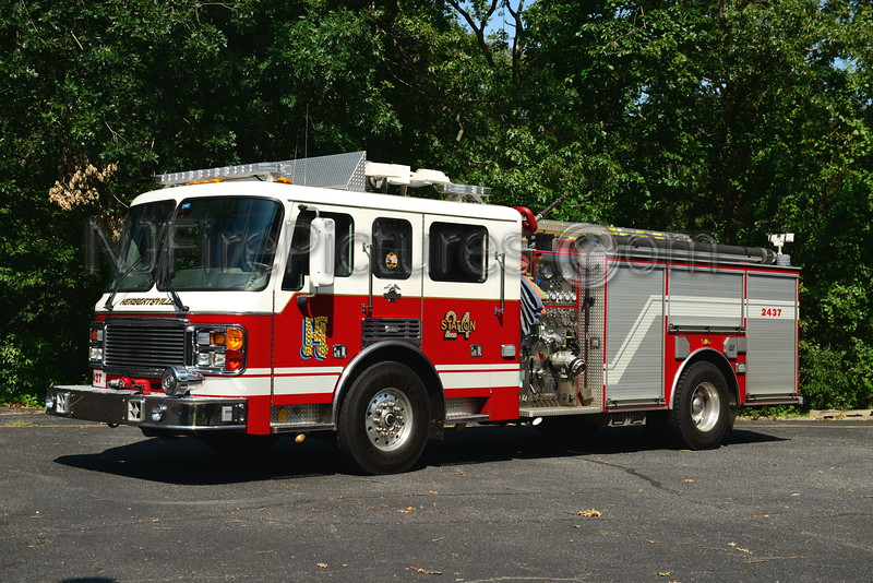 BRICK TOWNSHIP, NJ HERBERTSVILLE FIRE CO. ENGINE 2437