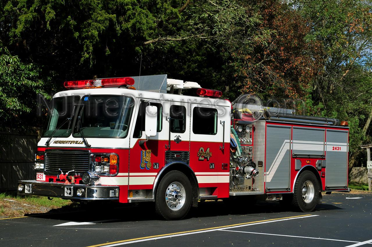 BRICK TWP, NJ HERBERTSVILLE ENGINE 2431