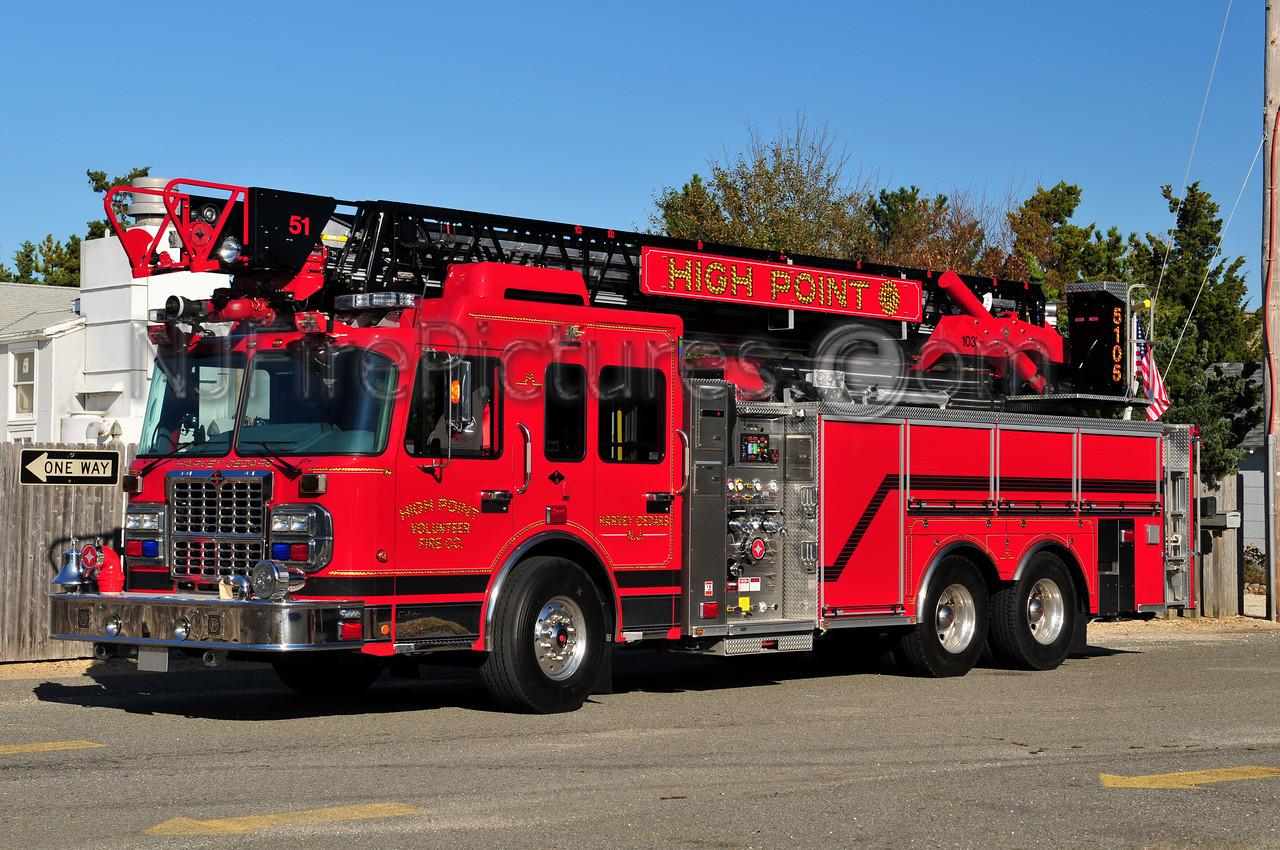 HARVEY CEDARS, NJ LADDER 5105