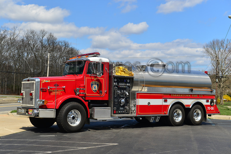 LITTLE EGG HARBOR (PARKERTOWN FIRE CO.) TANKER 7008