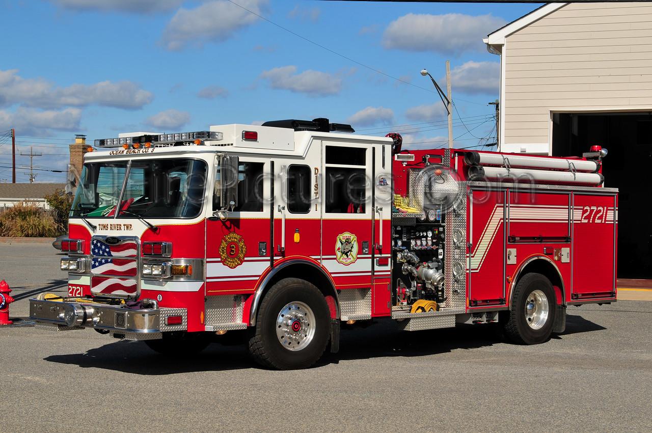 DOVER TWP, NJ (OCEAN BEACH FIRE CO. 3) ENGINE 2721