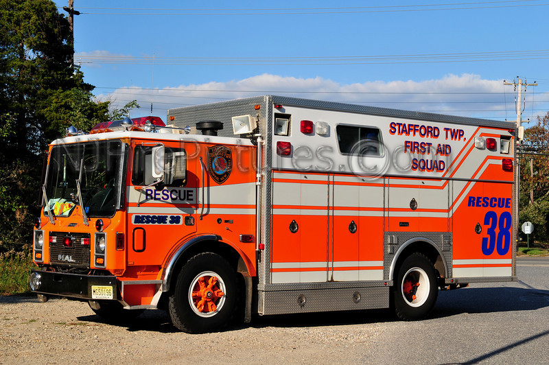 STAFFORD TWP, NJ RESCUE 38