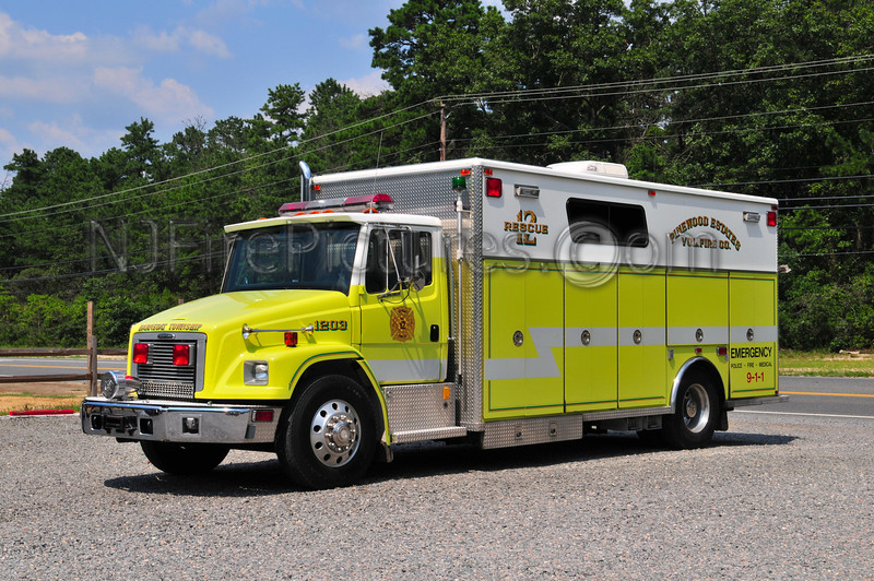 BARNEGAT TWP, NJ (PINEWOOD ESTATES) RESCUE 1203