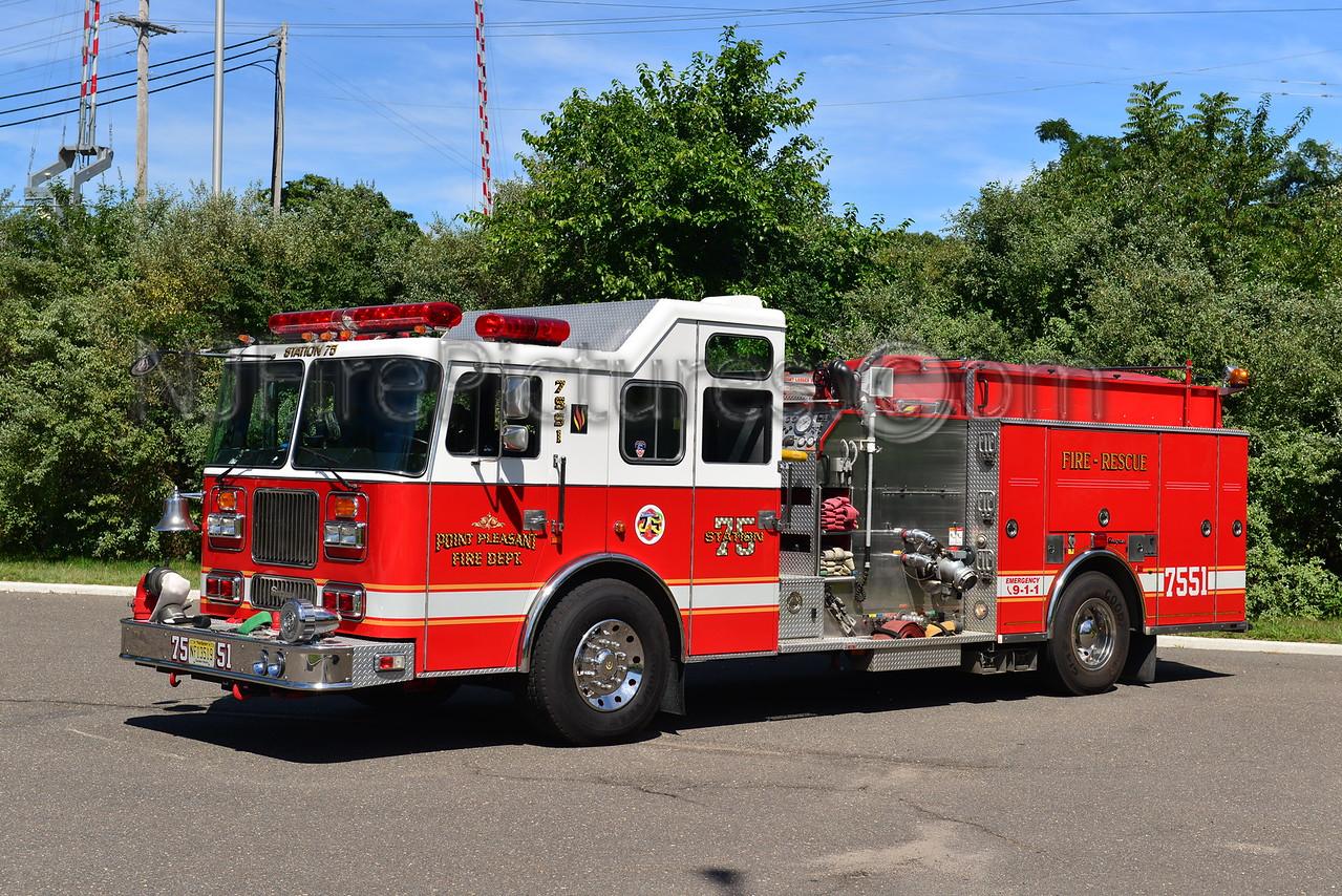 POINT PLEASANT BOROUGH, NJ ENGINE 7551