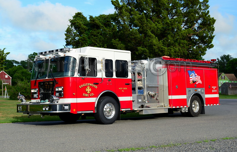 WEST CREEK, NJ EAGLESWOOD FIRE CO. ENGINE 5201
