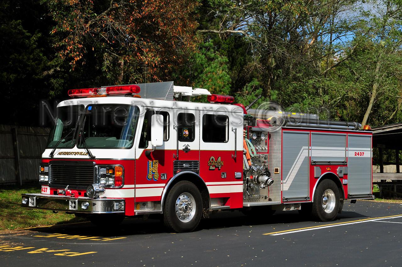 BRICK TOWNSHIP, NJ HERBERTSVILLE ENGINE 2437