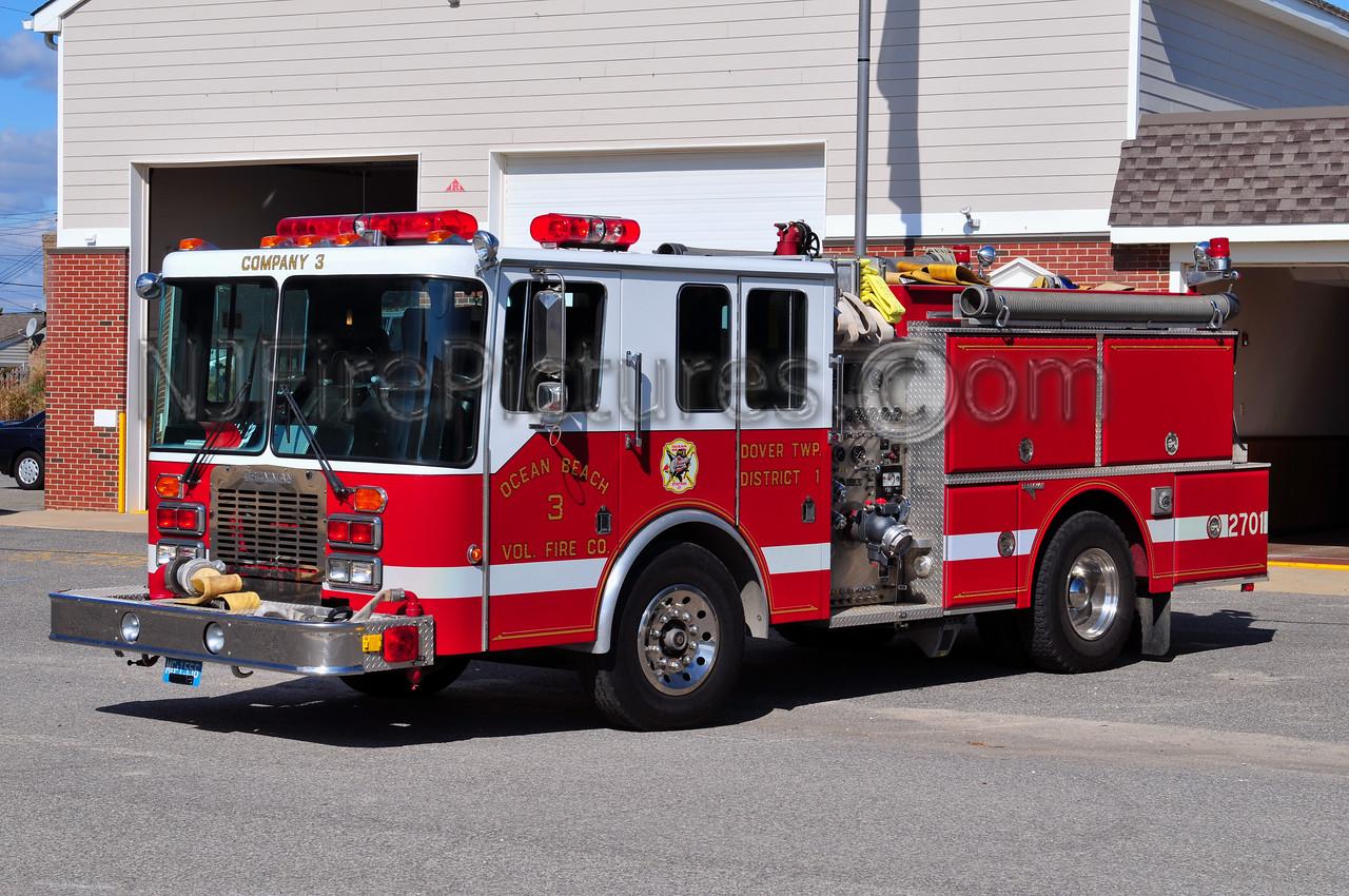 DOVER TWP, NJ (OCEAN BEACH FIRE CO. 3) ENGINE 2701
