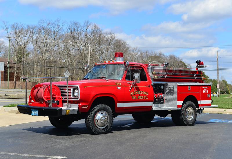 LITTLE EGG HARBOR, NJ (PARKERTOWN FIRE CO.) ENGINE 7002