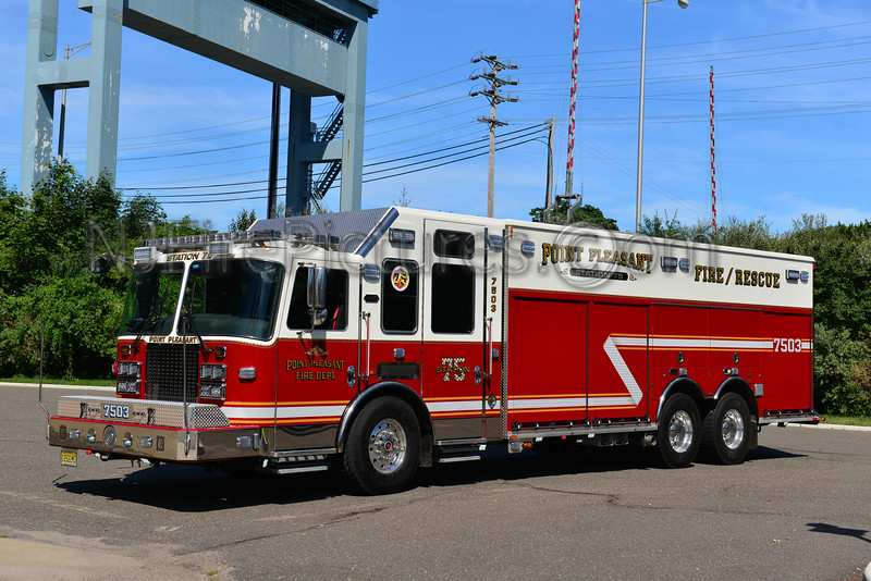 POINT PLEASANT BOROUGH, NJ RESCUE 7503