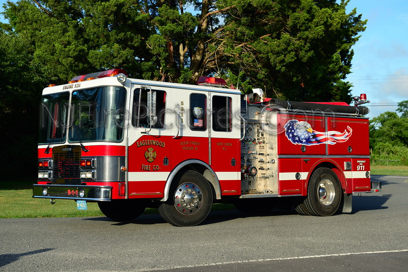 WEST CREEK, NJ EAGLESWOOD FIRE CO. ENGINE 5211