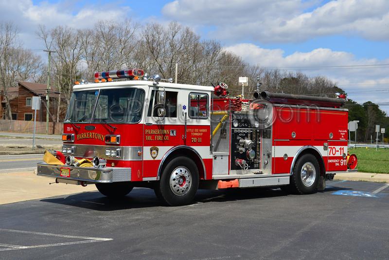 LITTLE EGG HARBOR, NJ (PARKERTOWN FIRE CO.) ENGINE 70-11