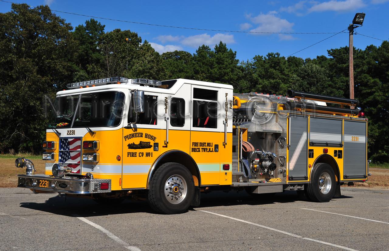 BRICK TWP, NJ (PIONEER HOSE CO. 1) ENGINE 2231