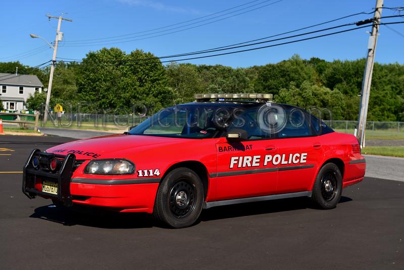 BARNEGAT, NJ FIRE POLICE 1114