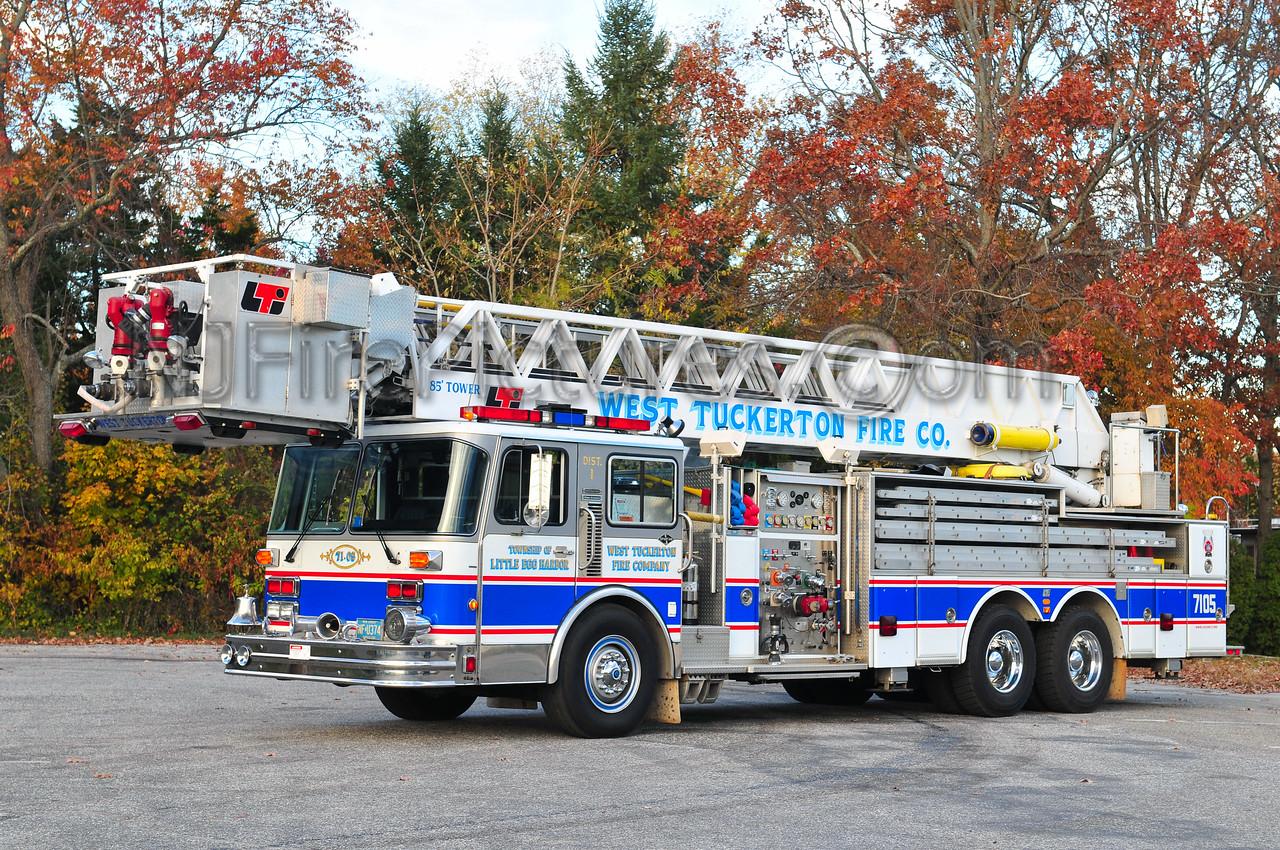 LITTLE EGG HARBOR, NJ (WEST TUCKERTON) LADDER 7105