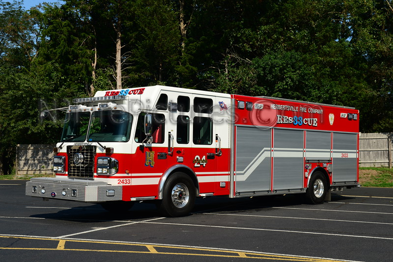 BRICK TOWNSHIP, NJ HERBERTSVILLE FIRE CO. RESCUE 2433