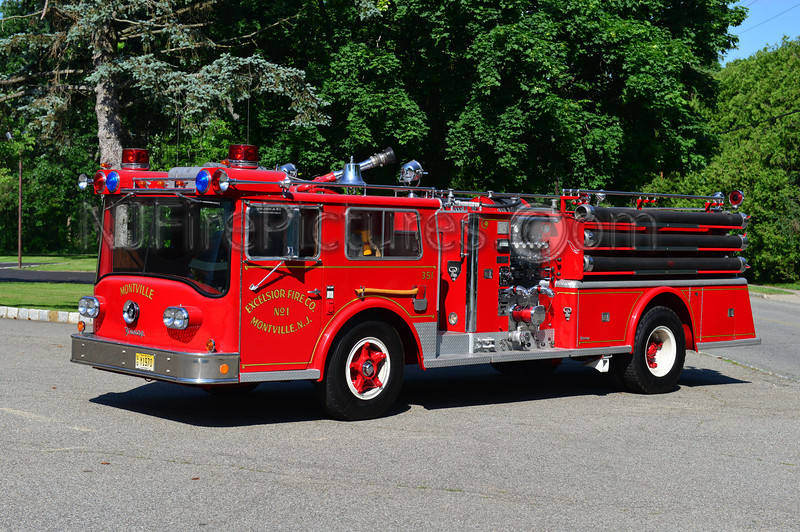 MONTVILLE, NJ ENGINE 351