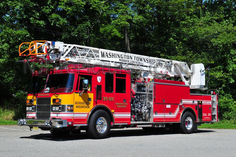 WASHINGTON TWP, NJ (SCHOOLEYS MTN) QUINT 3-9
