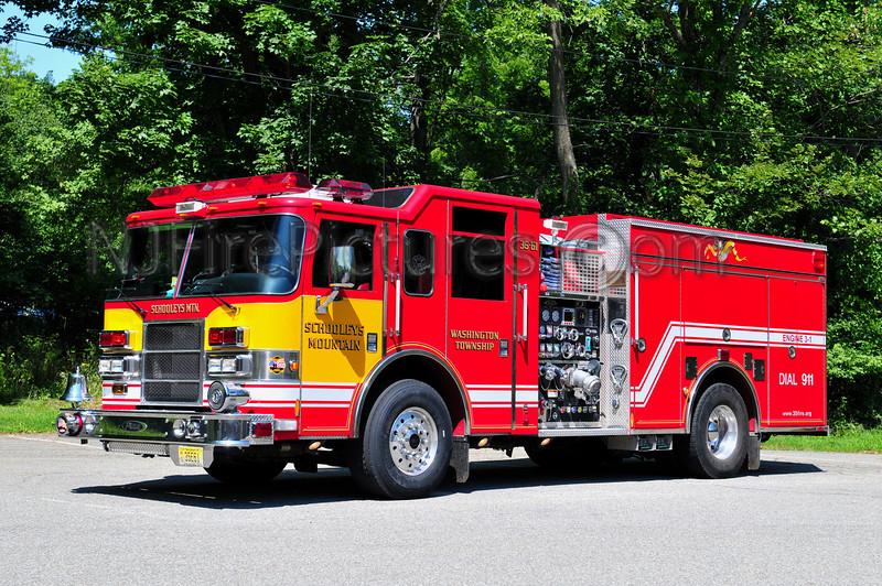 WASHINGTON TWP, NJ (SCHOOLEYS MTN) ENGINE 3-1