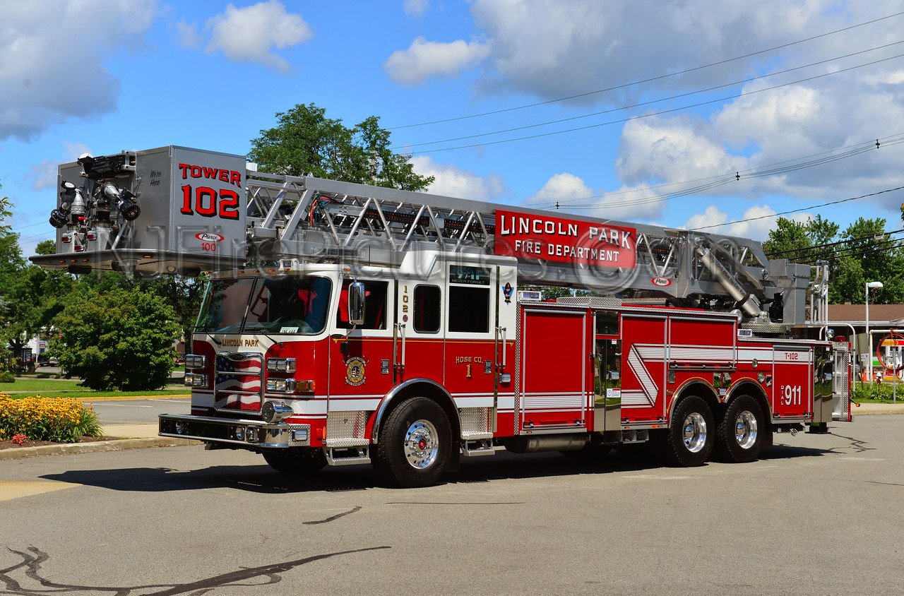 LINCOLN PARK, NJ TOWER 102