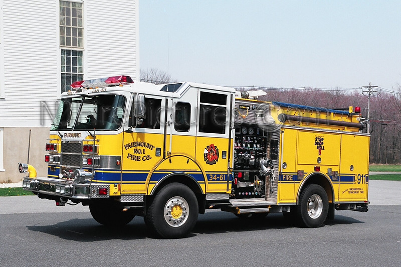 FAIRMOUNT - ENGINE 34-61 - 2003 PIERCE DASH 1250/500/25