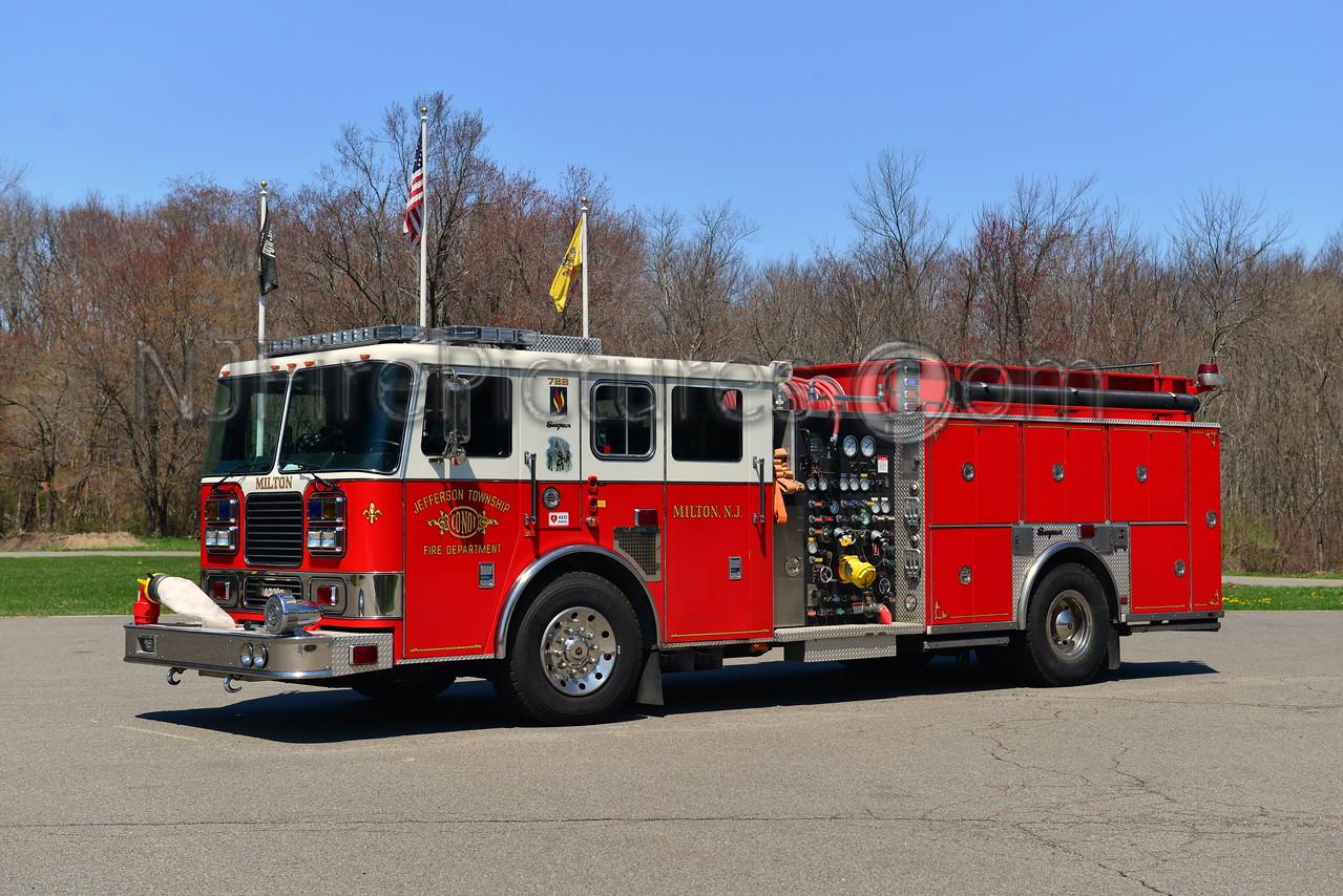 JEFFERSON TWP, NJ ENGINE 722