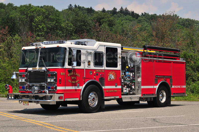 Budd Lake, NJ Engine 59 - 2008 Seagrave Maurader II 1500/870