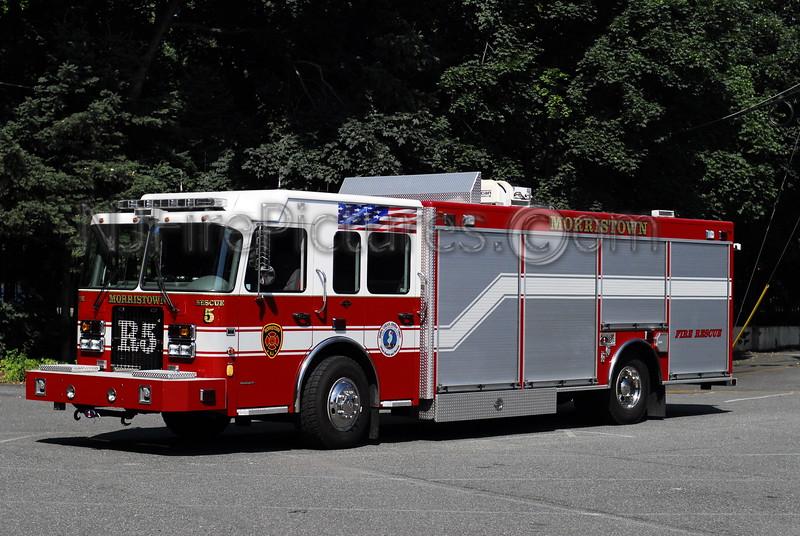 Morristown Rescue 5 - 2005 Spartan/Rescue 1/PL Custom