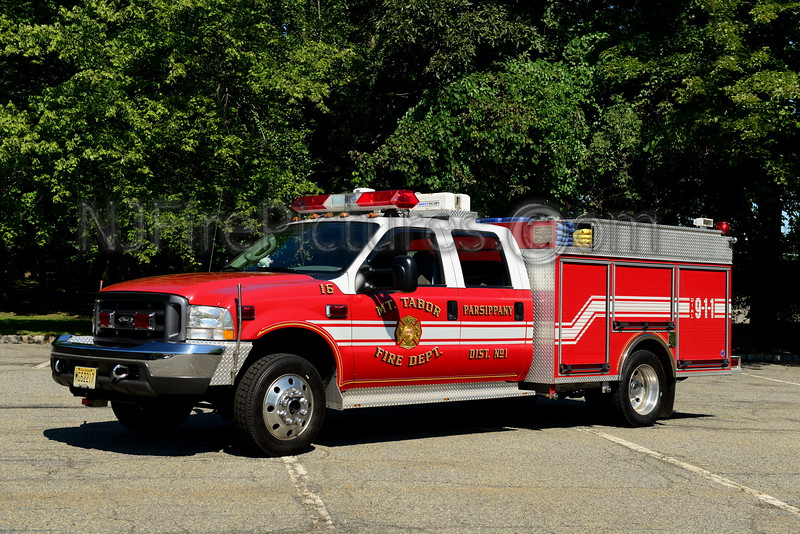 PARSIPPANY NJ MOUNT TABOR ENGINE 16