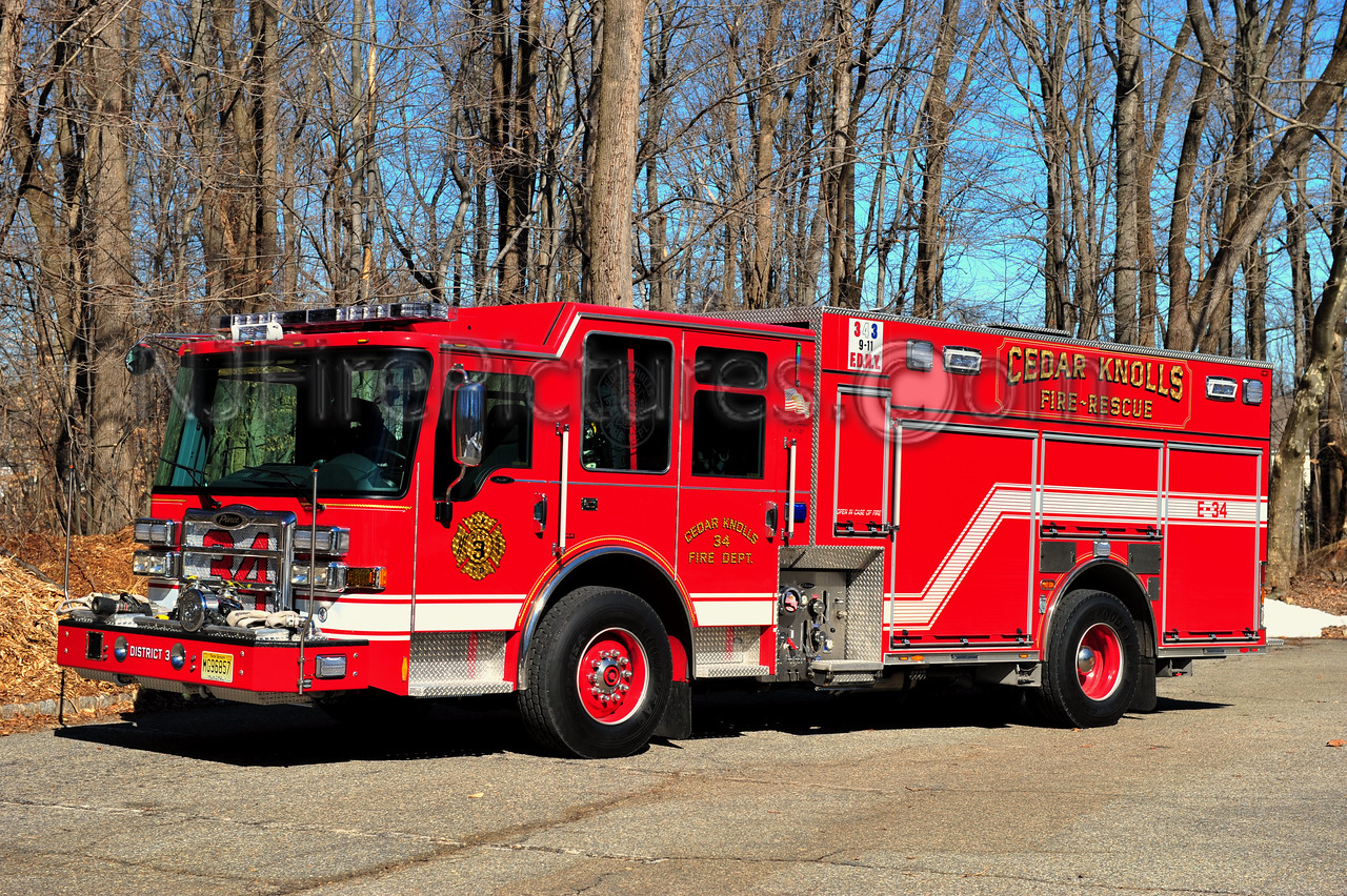 HANOVER TWP, NJ CEDAR KNOLLS ENGINE 34
