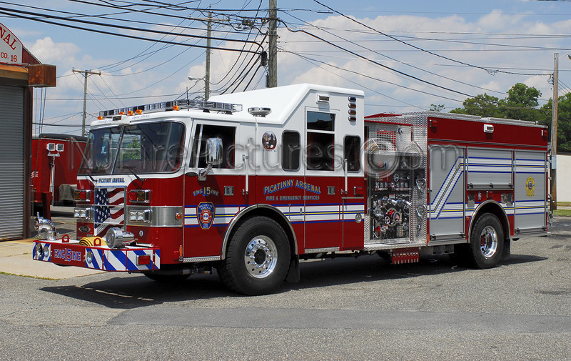 PICATINNY ARSENAL ENGINE 15 - 2008 PIERCE LANCE 1500/750/55  JOB# 20258