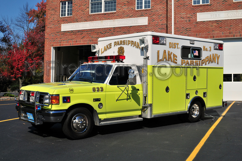 PARSIPPANY, NJ RESCUE 663 (LAKE PARSIPPANY FIRE CO.)