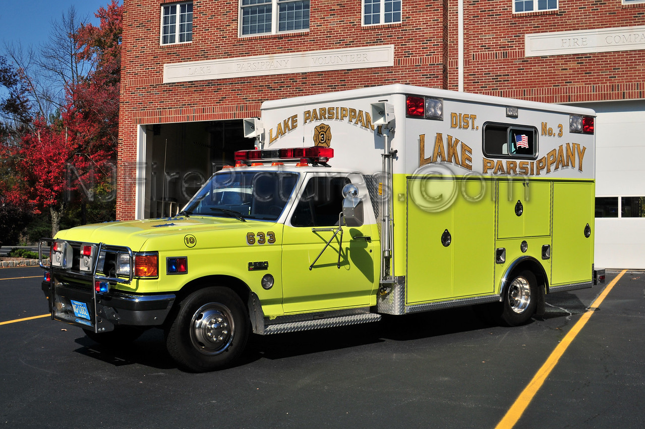 PARSIPPANY, NJ RESCUE 663 (LAKE PARSIPPANY FIRE CO.)
