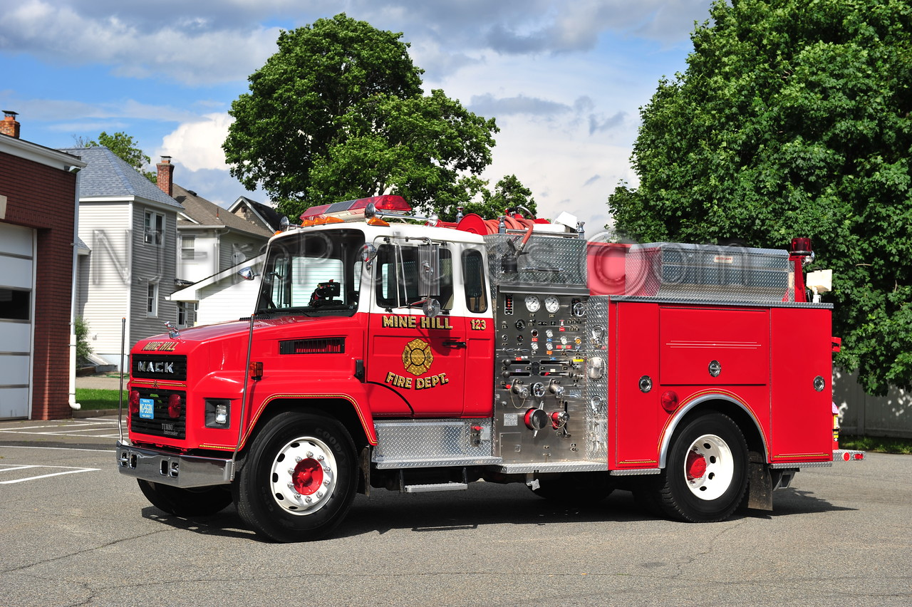 MINE HILL, NJ ENGINE 123
