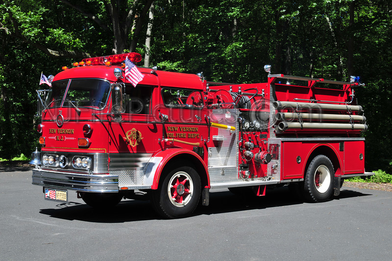 HARDING TWP, NJ (NEW VERNON) ENGINE 5