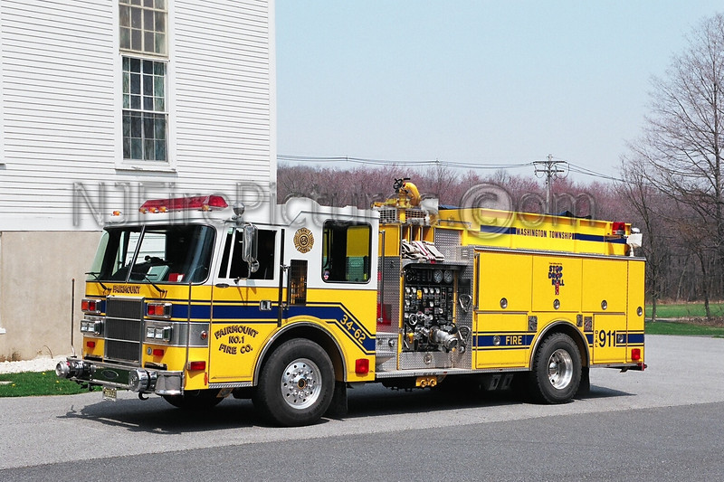FAIRMOUNT - ENGINE 34-62 - 1993 PIERCE DASH 1500/1000