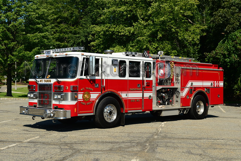 PARSIPPANY, NJ MOUNT TABOR ENGINE 13