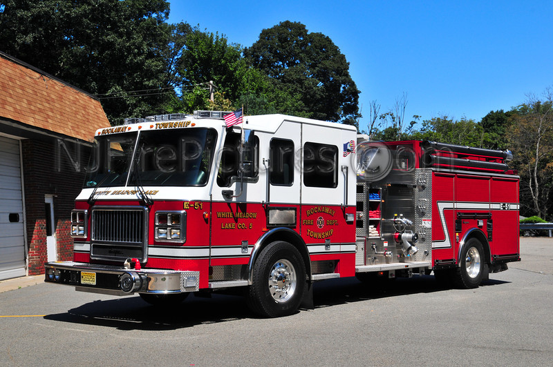 Rockaway Twp, NJ Engine 51 - 2005 Seagrave Concorde 1500/500/20/20 (White Meadow Lake Fire Co.)