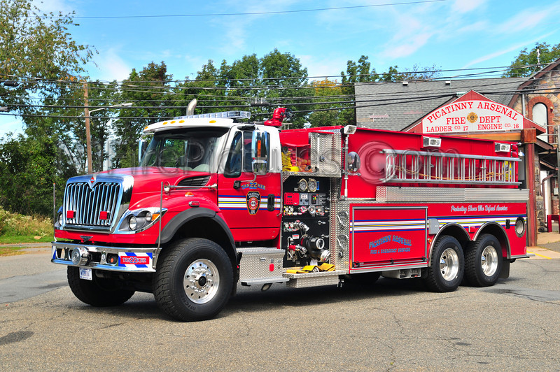 Picatinny Arsenal Tanker 22 - 2009 International/Pierce Contender 1500/3000/55 AFFF