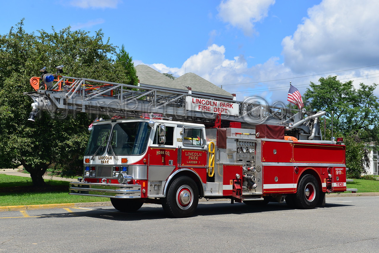 LINCOLN PARK, NJ LADDER 102