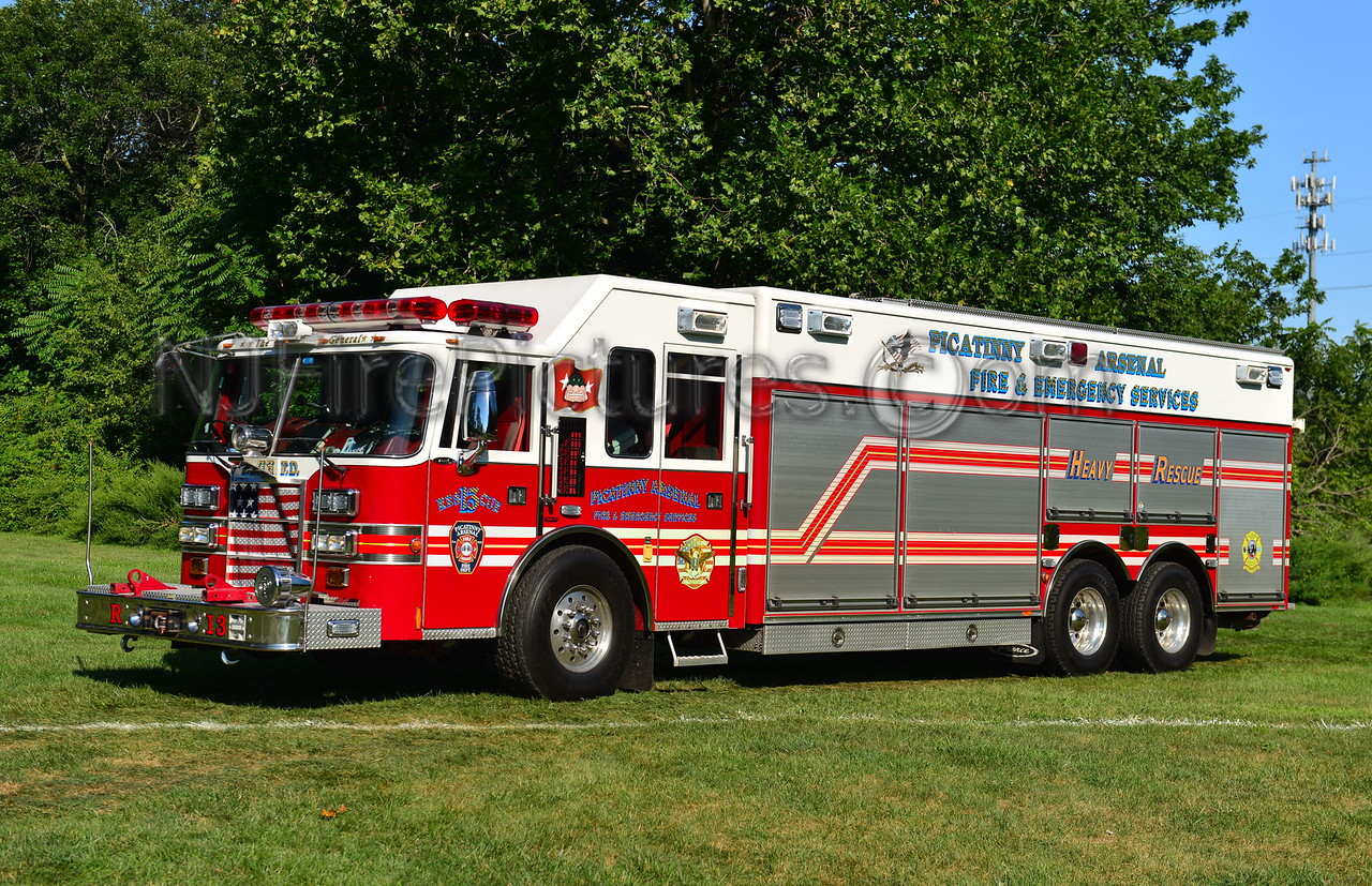 PICATINNY ARSENAL RESCUE 13