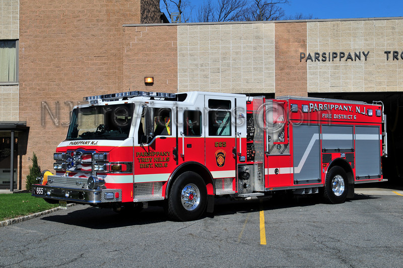 PARSIPPANY, NJ ENGINE 665