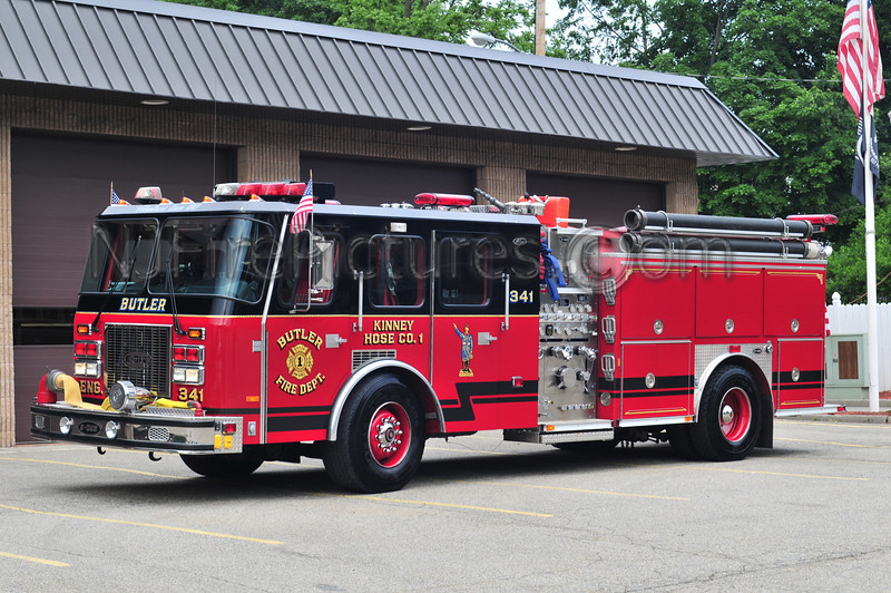 Butler Engine 341 - 1996 E-ONE 1500/1000/20