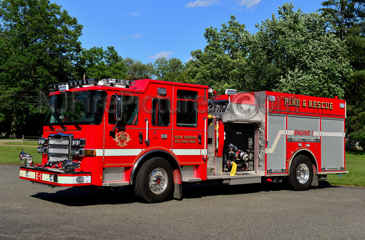 HARDING TWP, NJ (NEW VERNON FIRE CO.) ENGINE 1