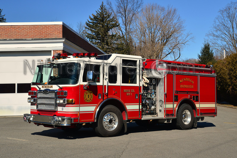 MENDHAM BOROUGH, NJ ENGINE 1