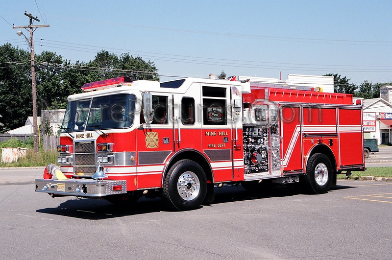 MINE HILL - ENGINE 122 - 2000 PIERCE DASH 1500/750/30