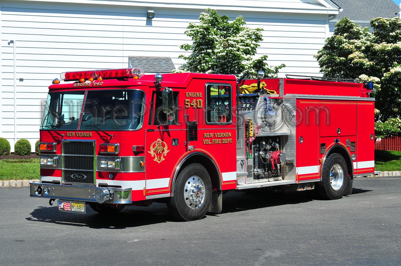 HARDING TWP, NJ (NEW VERNON) ENGINE 3