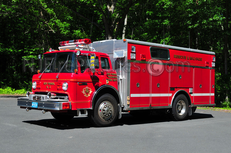 HARDING TWP, NJ (NEW VERNON) RESCUE 8